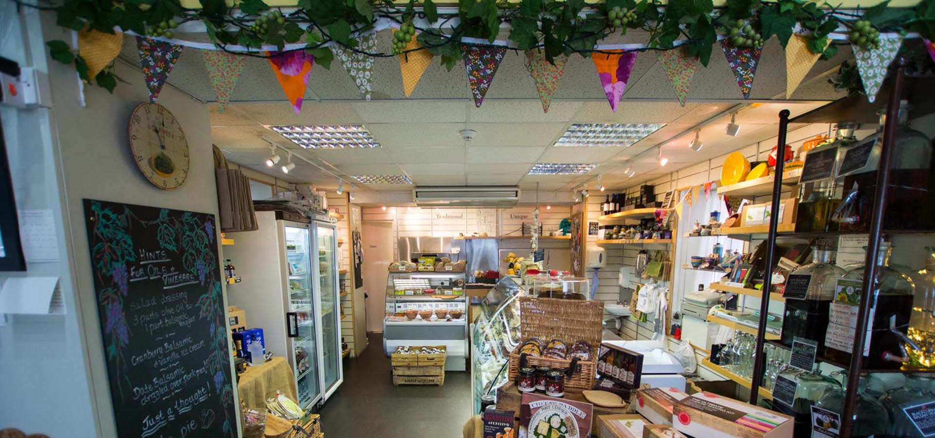 Keswick Cheese Deli Shop Interior