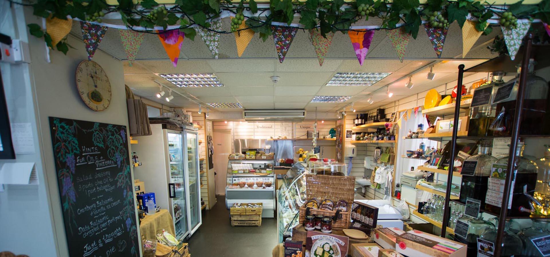 Keswick Cheese Deli Shop Interior